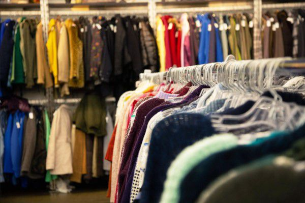 Clothe for sales in Arkansas thrift store