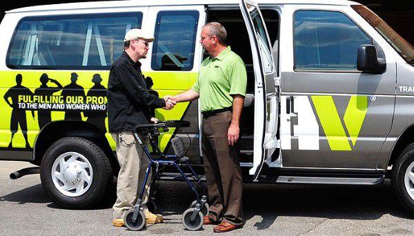 Disabled American Veterans van