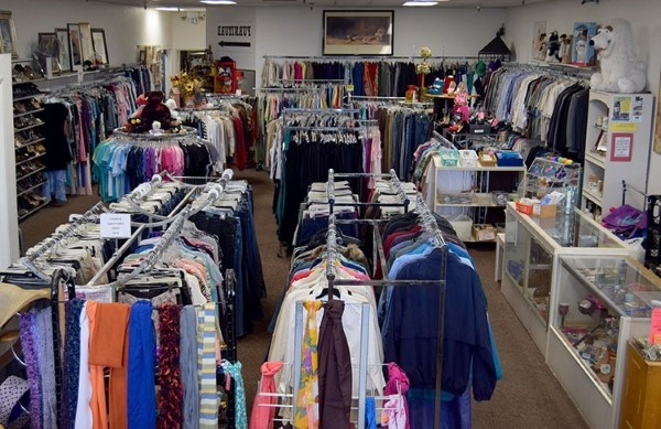 Georgia thrift stores selling donated clothes