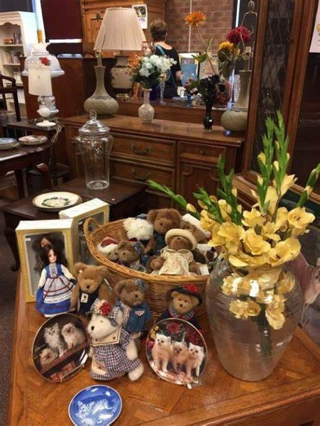 Household items for sale in a Maryland thrift store