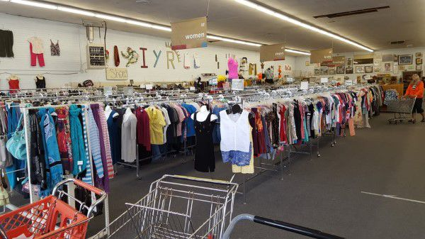 Inside an Idaho Youth Ranch thrift store