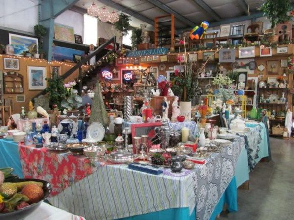 Iowa thrift store selling a range of homewares for charity