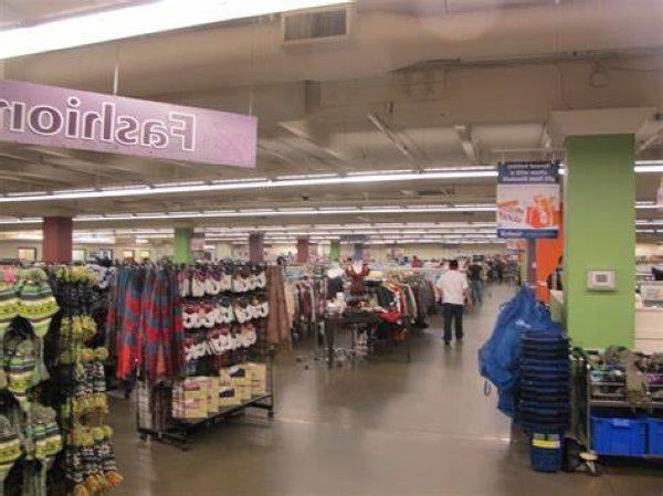 Large thrift store in Idaho
