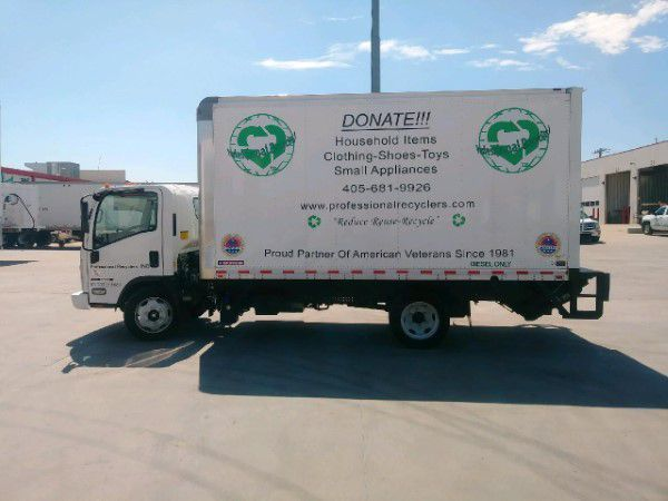 Professional Recyclers Oklahoma pickup truck