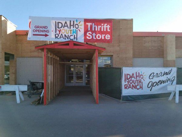 Storefront of an Idaho Youth Ranch