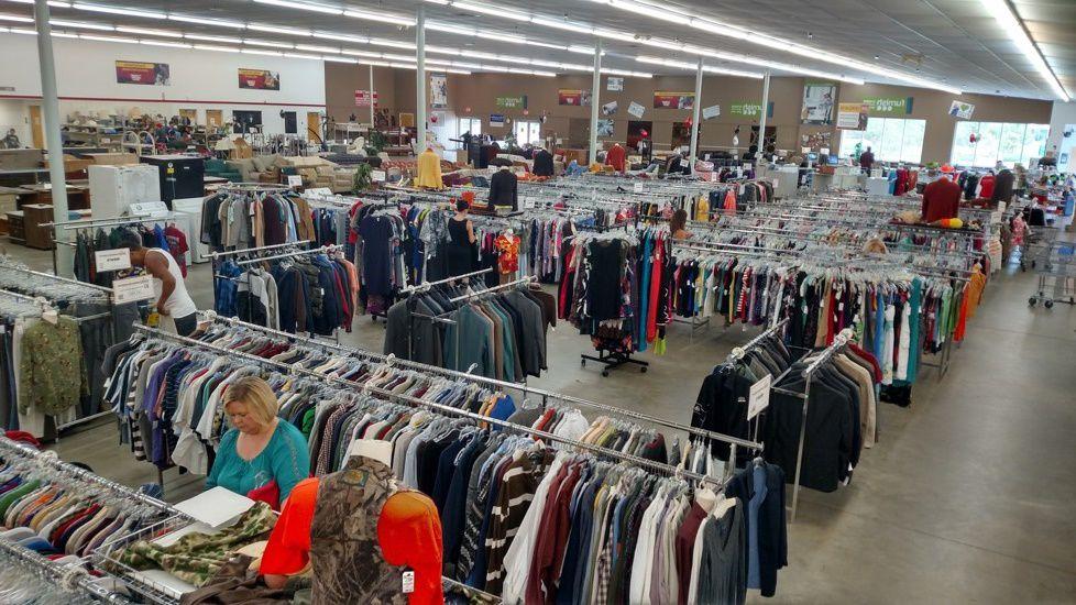 Thrift store in Alabama