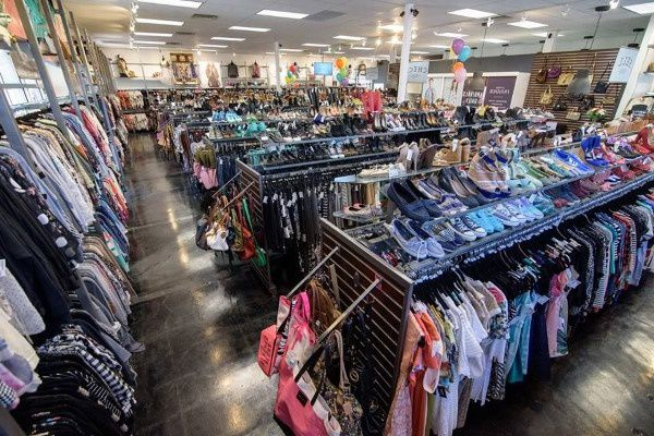Thrift store in Maryland selling donated clothes