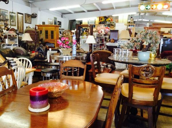 Thrift store in Texas selling furniture