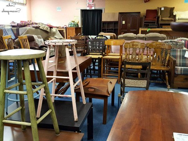 Thrift store in Virginia selling misc furniture