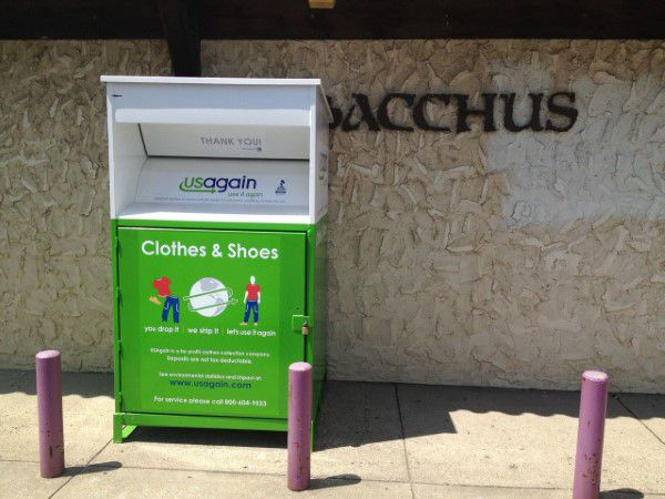 USAgain clothing donation drop off in West Virginia