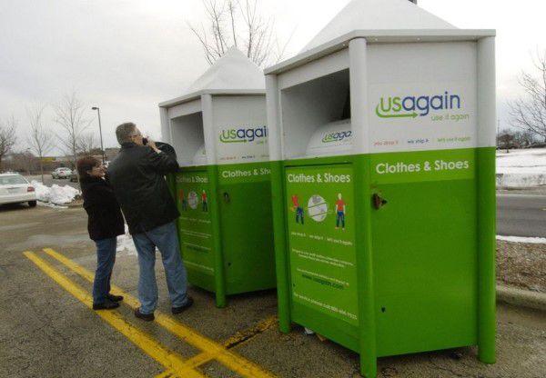 USAgain donation bin in Vermont