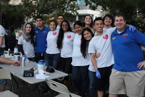 Volunteers at Hearts for the Homeless