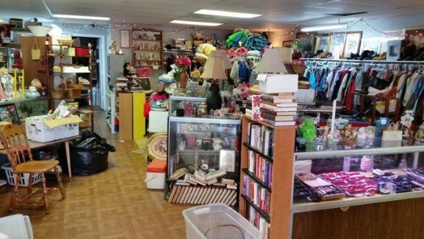 West Virginia thrift store selling donated goods
